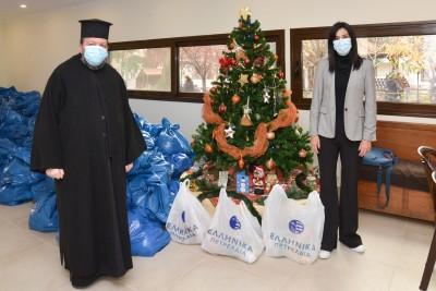 Το Χριστουγεννιάτικο τραπέζι 500 οικογενειών στηρίζει ο όμιλος των ΕΛΠΕ