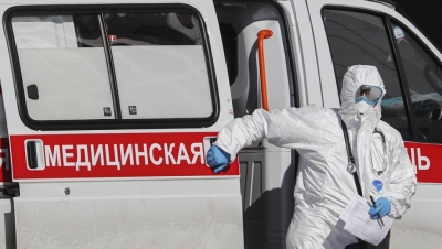 Ρωσία: Στα 23.309 τα νέα κρούσματα κορωνοϊού - Στους 470 οι νεκροί