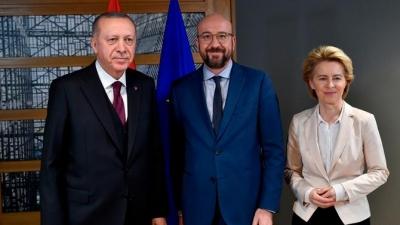 Στην Τουρκία von der Leyen και Michel στις 6/4 - Συνάντηση με Erdogan