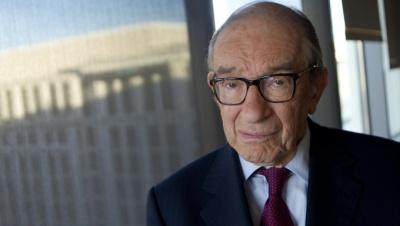 Greenspan: Τελείωσε το πάρτι στη Wall Street - Οι επενδυτές πρέπει να προετοιμαστούν για τα χειρότερα