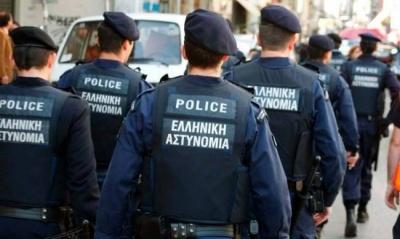 Εκατοντάδες συλλήψεις στο κέντρο της Αθήνας τον Νοέμβριο 2018