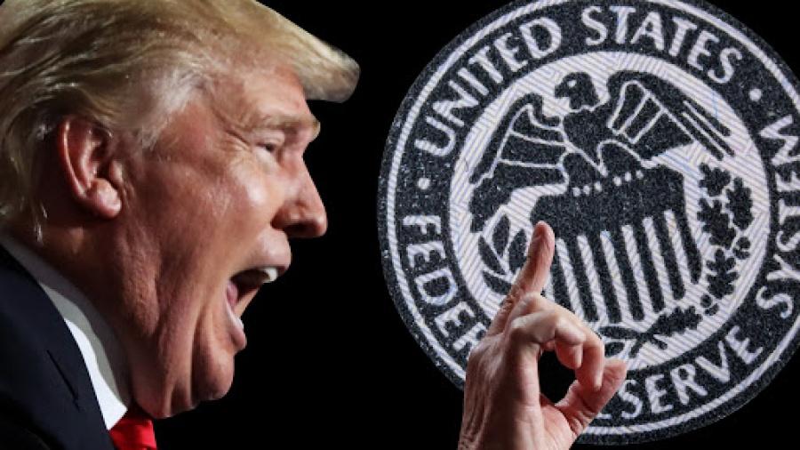 Trump: Αξιοθρήνητη και αργή η Fed υπό τον Powell - Ανακοινώνω ...