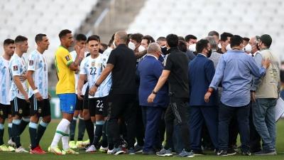 Βραζιλία - Αργεντινή: Αυτά προβλέπει ο κανονισμός της FIFA για διακοπές αγώνων