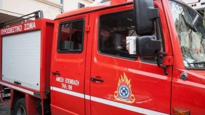 Συναγερμός στον Ασπρόπυργο - Φωτιά σε βυτιοφόρο με προπάνιο - Εκκενώθηκε περιοχή