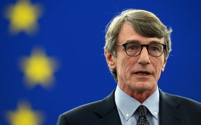 Sassoli (Ευρωκοινοβούλιο): Θετικό σημείο εκκίνησης η γαλλογερμανική πρόταση δημιουργίας ταμείου ανάκαμψης