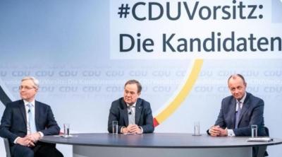 Το CDU αποφασίζει στις 16/1 για τον διάδοχο της Merkel στην ηγεσία - Φαβορί ο Merz