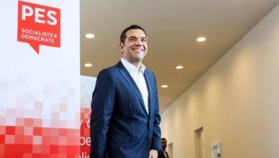 Τσίπρας στο PES: Στρατηγικής σημασίας για την ΕΕ η ενταξιακή προοπτική των Δυτικών Βαλκανίων
