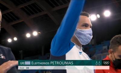 Ολυμπιακοί Αγώνες: Ο Λευτέρης Πετρούνιας αποθεώθηκε κατά την είσοδό του! (video)