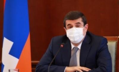 Αρμενία-Αζερμπαϊτζάν: Πιο ήρεμα, εύθραυστη η εκεχειρία, σύμφωνα με τον αυτονομιστή πρόεδρο του Nagorno Karabakh