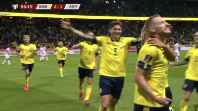 Σουηδία- Ισπανία 2-1: Ο Κλάεσον ανατρέπει το σκηνικό του αγώνα! (video)