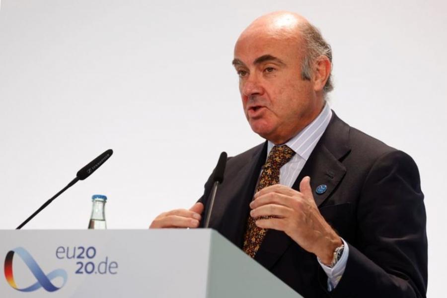 De Guindos (EKT): Νέες κατευθυντήριες γραμμές στη νομισματική πολιτική με βάση το νέο στόχο για τον πληθωρισμό