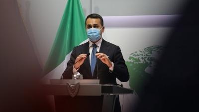 Di Maio  (ΥΠΕΞ Ιταλίας): Δεν είναι ανεκτή η αμφισβήτηση των κυριαρχικών δικαιωμάτων Κύπρου και Ελλάδας