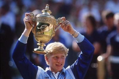 Μπόρις Μπέκερ: Ένα παιδί μετράει τα άστρα στο Wimbledon...