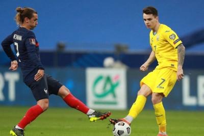 Ουκρανία – Γαλλία 1-0: Ανοίγει το σκορ ο Σαπαρένκο με εκπληκτικό σουτ πριν από την λήξη του ημιχρόνου! (video)