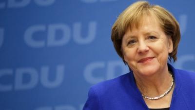 Γερμανία: Εύχομαι να ληφθούν οι σωστές αποφάσεις για το μέλλον, δήλωσε η Angela Merkel, μιλώντας στο συνέδριο του CDU