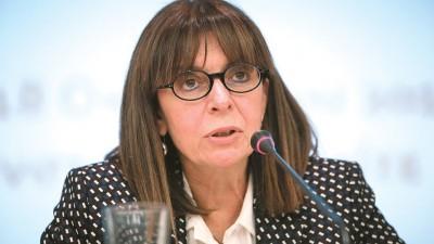 Σακελλαροπούλου σε Stoltenberg: Το μήνυμα προς την Τουρκία πρέπει να είναι σαφές, όχι διφορούμενο