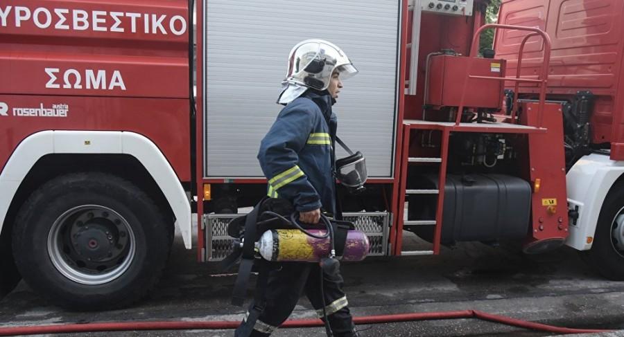 Μεγάλη πυρκαγιά κοντά στα λατομεία Σχιστού Αττικής – Άμεση επέμβαση της Πυροσβεστικής