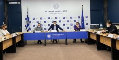 H διαχείριση της πίεσης στις ΜΕΘ των Νοσοκομείων της Αττικής στο επίκεντρο συνάντησης υπό τον Κικίλια