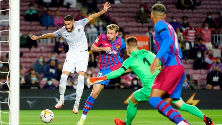 Μπαρτσελόνα - Γρανάδα 0-1: «Σοκάρει» τους Καταλανούς ο Ντουάρτε