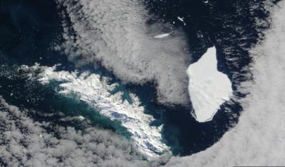 BAS (Βρετανία): Τεράστιο παγόβουνο έκτασης 1.270 τετραγωνικών μέτρων, αποσπάστηκε από την Ανταρκτική