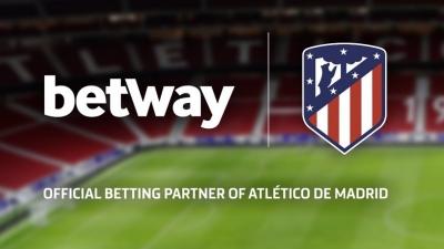 Betway: Η συμφωνία με την Ατλέτικο της ανοίγει ξανά τον δρόμο της La Liga