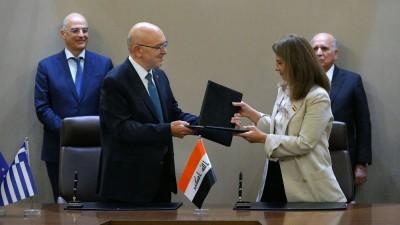 Φραγκογιάννης: Ενισχύουμε τις επιχειρηματικές και οικονομικές σχέσεις με το Ιράκ