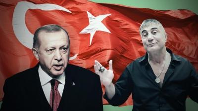 Τουρκία: Ένταλμα σύλληψης για τον αρχιμαφιόζο Peker, μετά τις αποκαλύψεις του για την κυβέρνηση Erdogan