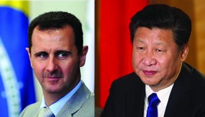 Ο Xi Jinping (Κίνα) συνεχάρη τον Assad (Συρία) για την επανεκλογή του