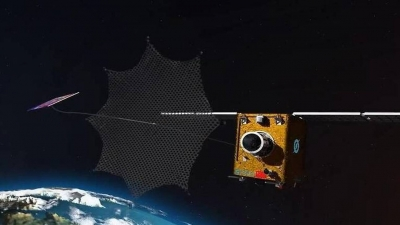Κίνα: Εκτοξεύτηκε πρωτότυπο ρομπότ που θα μαζεύει διαστημικά απορρίμματα με δίχτυ