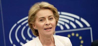 Von der Leyen: Η πανδημία και η αντιμετώπισή της στο επίκεντρο της πρώτης ομιλίας της για την Κατάσταση της EE, αύριο 16/9