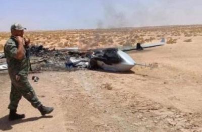 Η Συρία ανακοίνωσε ότι κατέρριψε οπλισμένο drone στο νότιο τμήμα της χώρας
