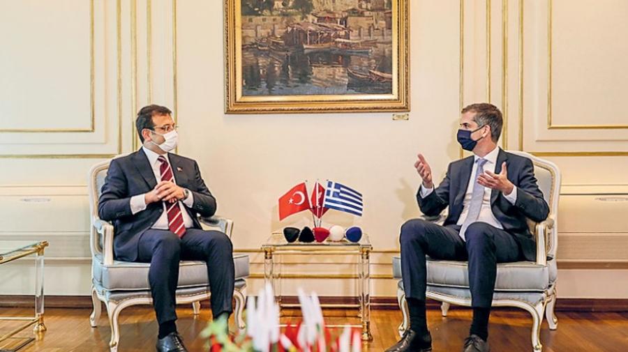 Στην Αθήνα ο Imamoglu - Συνάντηση με Μητσοτάκη και Μπακογιάννη - Στις 13:00 στο Μέγαρο Μαξίμου