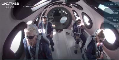 Ολοκληρώθηκε με επιτυχία η πτήση του Richard Branson στο διάστημα - Η παγκόσμια πρώτη τουριστική βόλτα