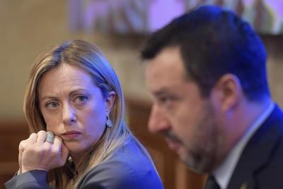 Ιταλία - Δημοσκόπηση: Χάνει έδαφος η Lega του Salvini (26%), ενισχύεται το κόμμα Fratelli di Italia (14,2%)