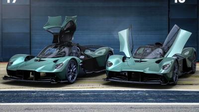Ανοιχτή, η Aston Martin Valkyrie Spider πιάνει έως 330 χλμ./ώρα!