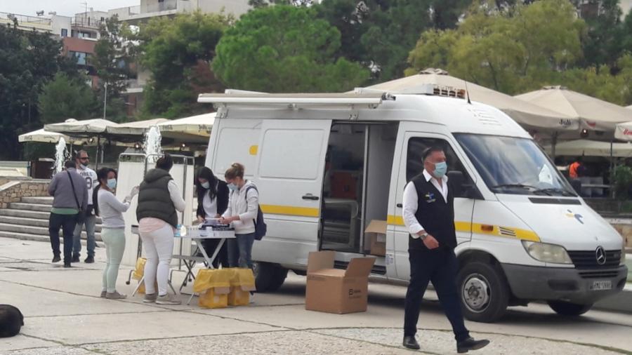 ΕΟΔΥ: Πρώτη η Αττική 839 κρούσματα, 186 μολύνσεις στη Θεσσαλονίκη