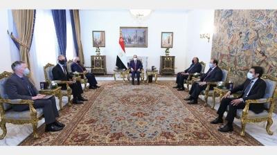 Συνάντηση el Sisi Σίσι με τον Αμερικανό γερουσιαστή Menendez - Στο επίκεντρο η ΝΑ Μεσόγειος