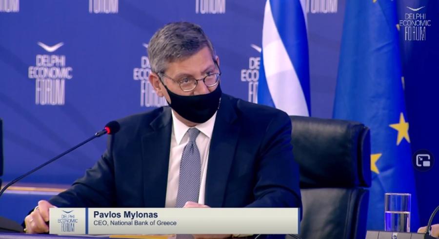 Μυλωνάς (Εθνική): Πάνω από 10% η ανάπτυξη στην Ελλάδα για τα τρία τρίμηνα του 2021
