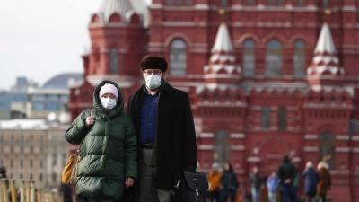 Ρωσία: Συνεχίζει να καλπάζει η πανδημία με 749 νέους θανάτους και 25.033 κρούσματα στο 24ωρο