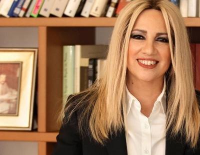 Γεννηματά: Η Τουρκία απειλεί ευθέως την σταθερότητα και την ειρήνη στην Ανατολική Μεσόγειο