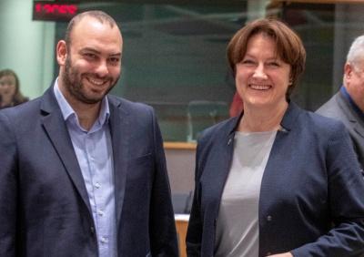 Στο Συμβούλιο Γενικών Υποθέσεων της Ε.Ε. στις Βρυξέλλες ο Γιαννακίδης - Τι ανέφερε