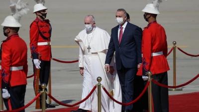 Ιστορική επίσκεψη του Πάπα Φραγκίσκου στο Ιράκ με δρακόντεια μέτρα