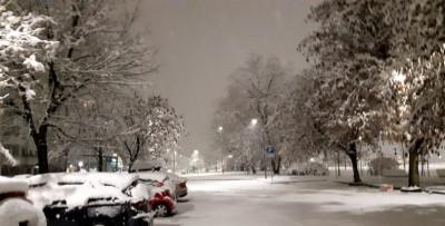 Ιταλία: Σπάνια χιονόπτωση έντυσε το Μιλάνο στα λευκά