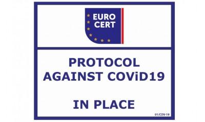 Πιστοποίηση συμμόρφωσης «Protocol against COVID-19» για την Agrino