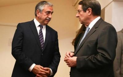 Συνάντηση Αναστασιάδη - Akinci: Συμφώνησαν σε Μέτρα Οικοδόμησης Εμπιστοσύνης - Εμμένει στις απόψεις του ο Τουρκοκύπριος ηγέτης