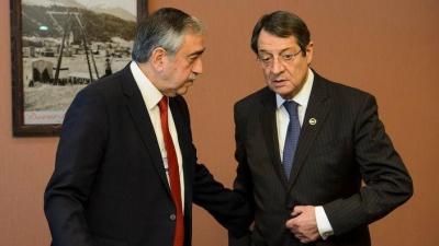 Κυπριακό - Αναστασιάδης και Akinci έτοιμοι για 3μερή με γγ του ΟΗΕ - «Δημιουργική ανταλλαγή απόψεων»