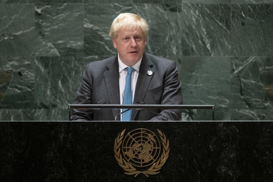Με Σοφοκλή και στίχους από αρχαία τραγωδία η ομιλία του Boris Johnson για το κλίμα στον ΟΗΕ