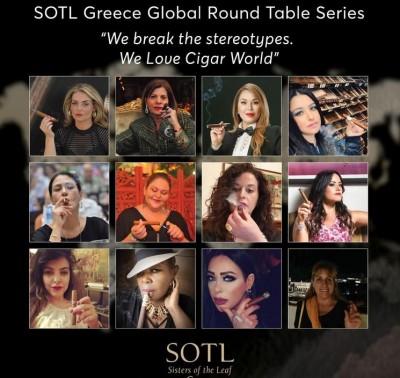 Οι Sisters of the Leaf Greece, εγκαινιάζουν μία σειρά από Στρογγυλές Τράπεζες υπό τον τίτλο «We break the stereotypes - We love cigar world