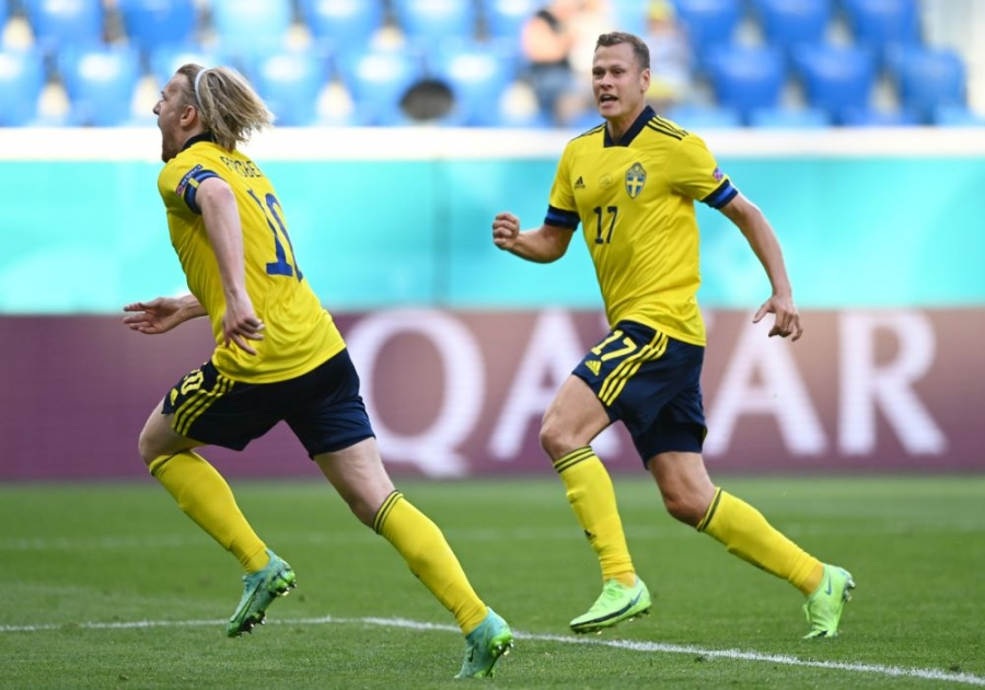 EURO 2020, Σουηδία-Σλοβακία 1-0: Η Σουηδία πέταξε το πρώτο μέρος στα σκουπίδια, αλλά «κατάπιε» τη Σλοβακία στο δεύτερο!