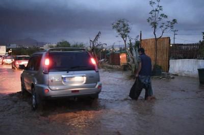 Σέρρες και Ξάνθη στο επίκεντρο της κακοκαιρίας - Καταστράφηκαν σοδιές από το χαλάζι και τις πλημμύρες